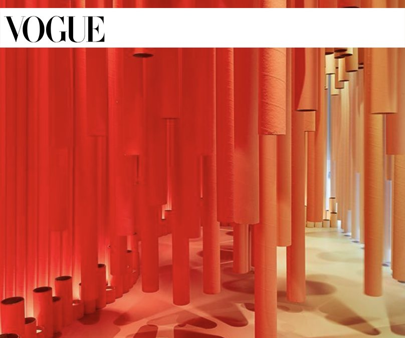 VOGUE London Design FestivalOCTOBER 2019PROJECT: TAKE THE PLUNGE