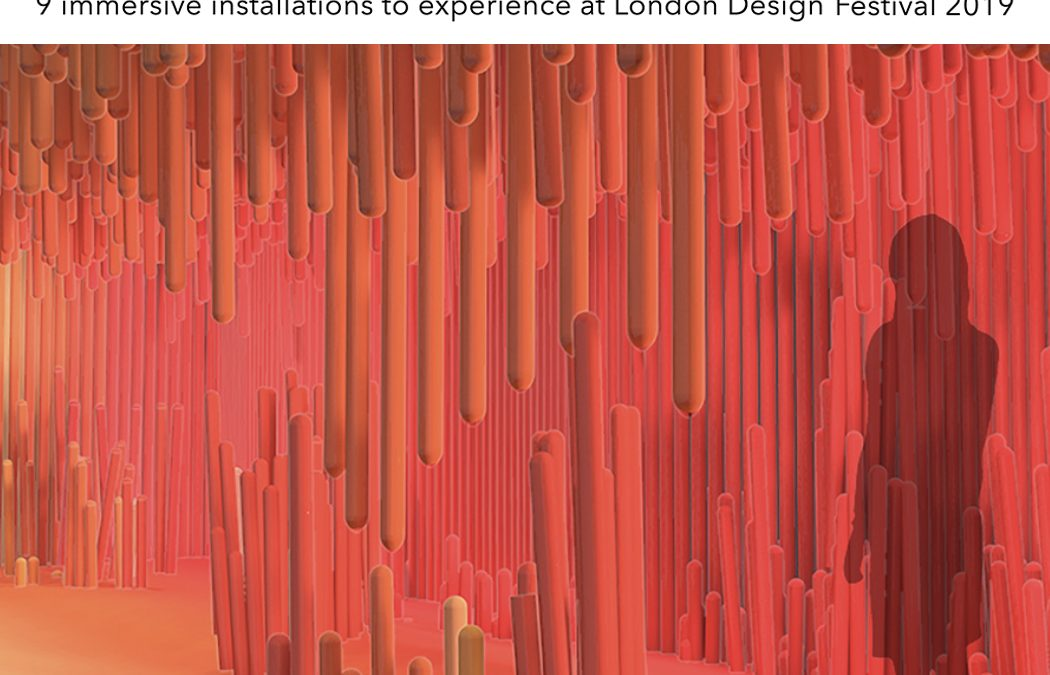 The Spaces London Design FestivalSEPTEMBER 2019PROJECT: TAKE THE PLUNGE