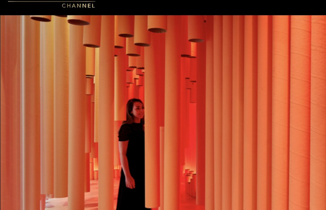 THE LUXURY CHANNEL London Design FestivalSEPTEMBER 2019PROJECT: TAKE THE PLUNGE