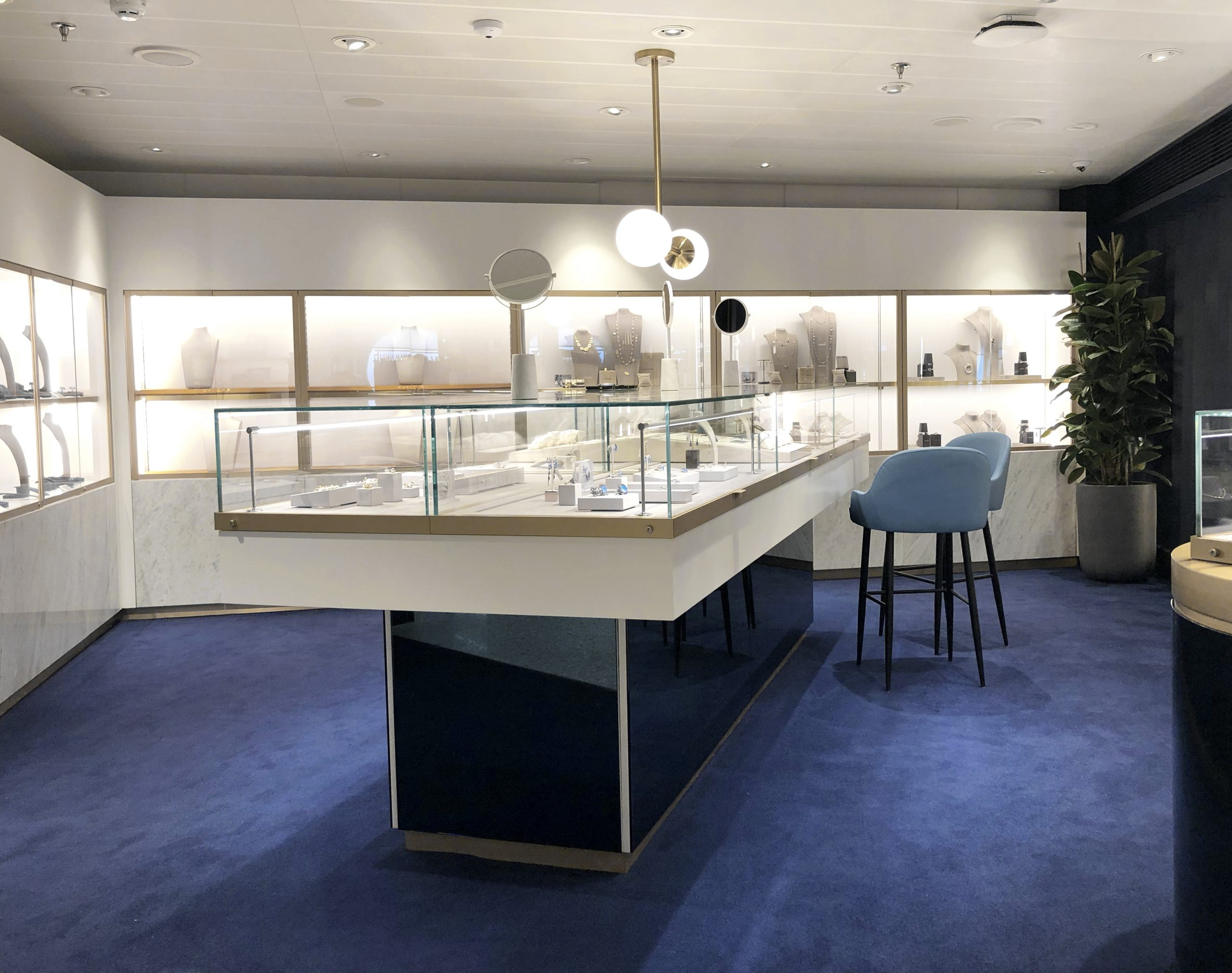 Jewellery retail design